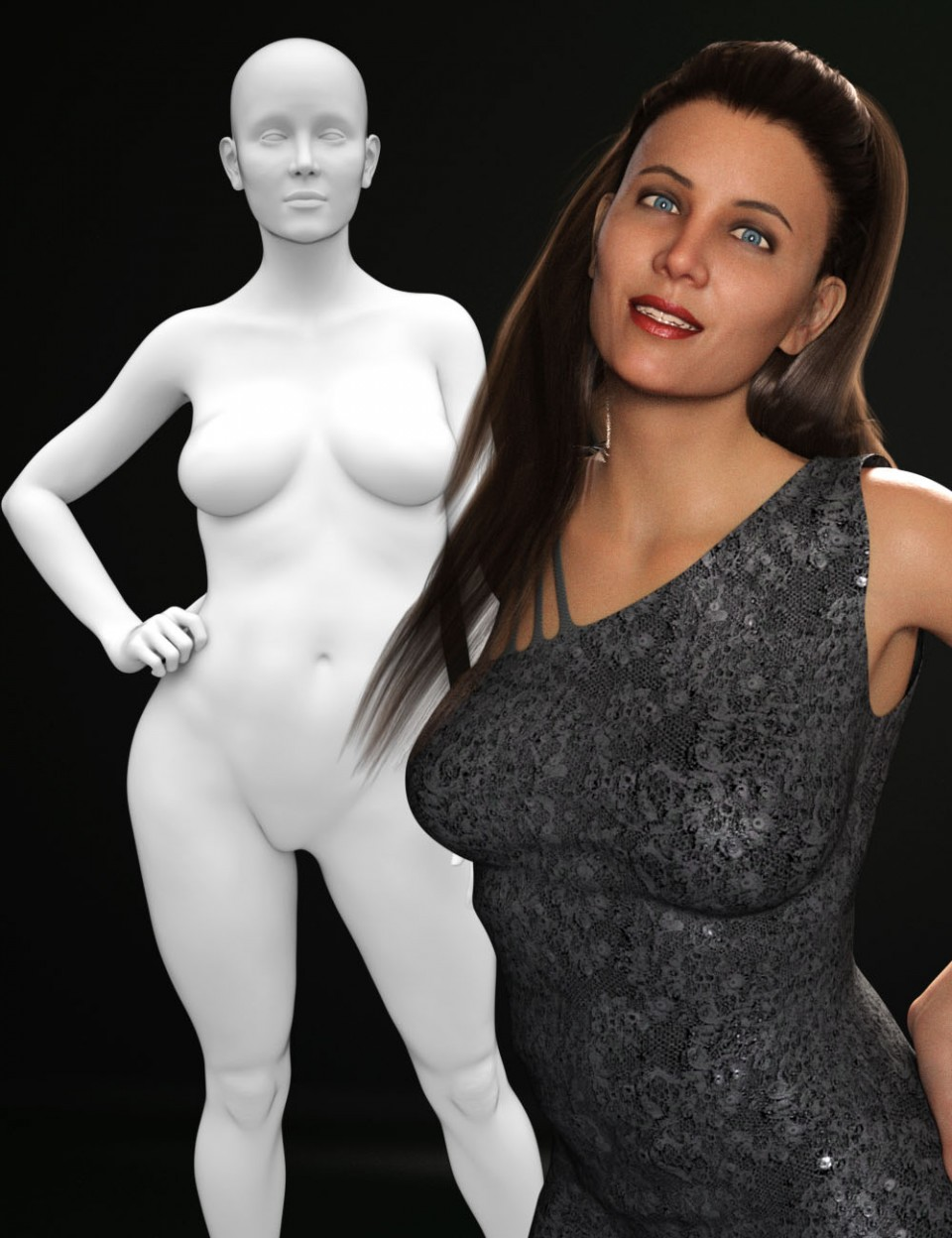 M3D Jessica HD for Genesis 8 Female