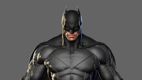 "Master 3D, from zero to hero Vol.7: Create to ""Batman"""