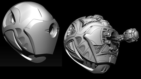 Zbrush 4R8: Hard Surface Sculpting for all Levels!