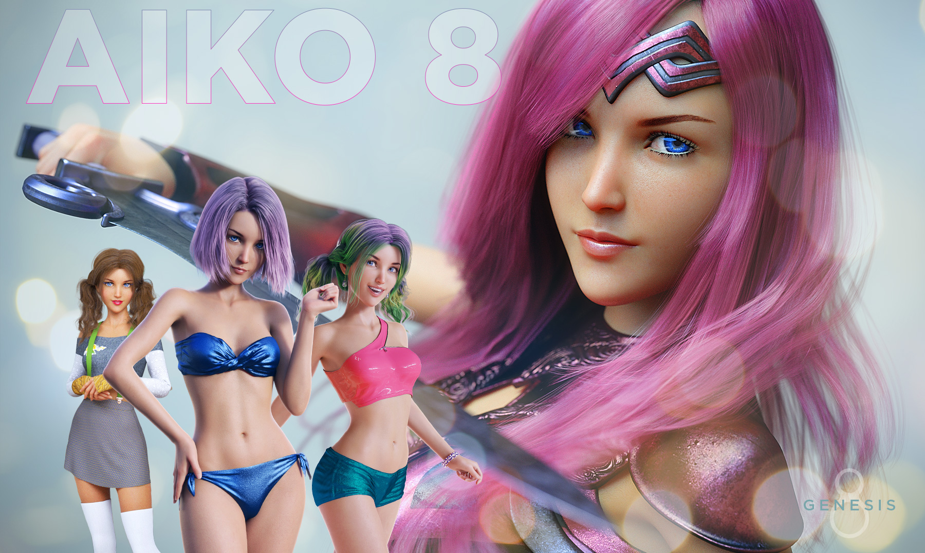Aiko 8 for Daz Studio