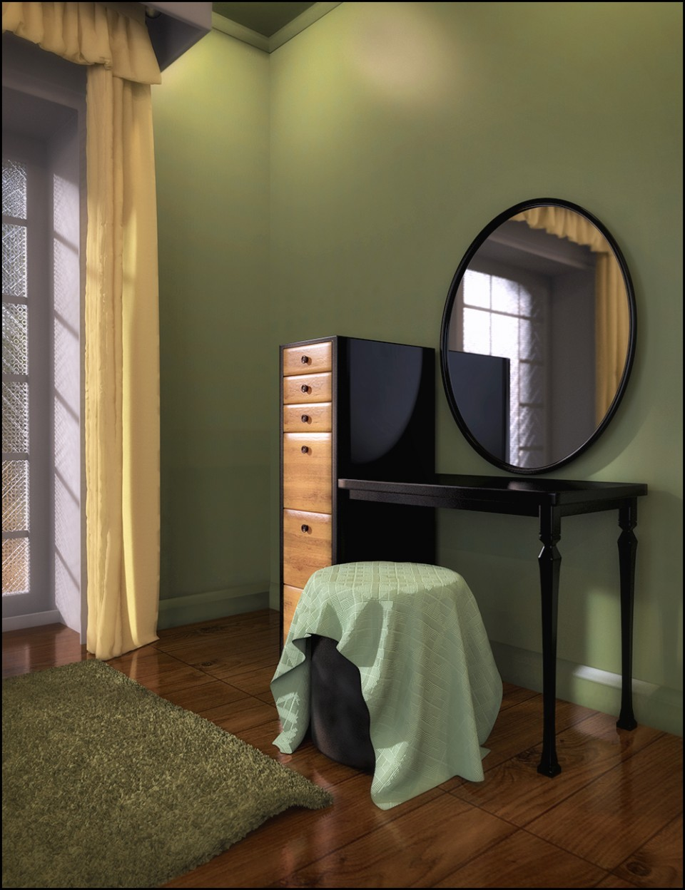 VRV Sienna Vanity Room