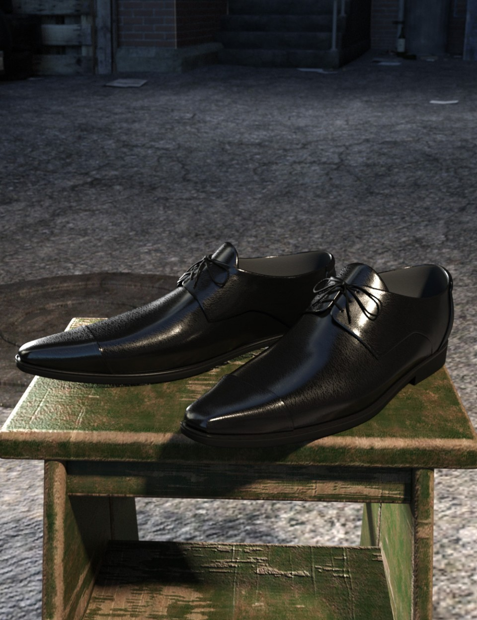Long Nose Shoes II for Genesis 8 Male
