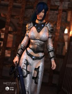 dforce daz studio daz3d warrior genesis8female g8f