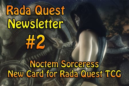 Rada Quest News #2 – New Card Included!