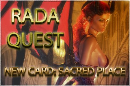 Sacred Place: New Card for Rada Quest TCG