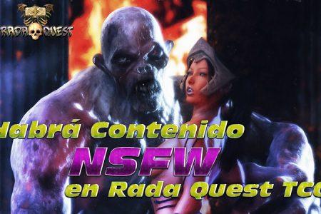 ¿Habrá contenido NSFW en el juego Rada Quest?